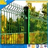 Triangle bending green vinyl coated welded wire mesh fence