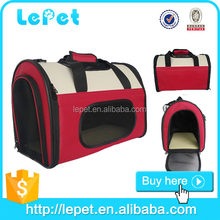 Pet Dog Cat Carrier Travel Tote Soft Sided Portable Crate Bag