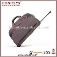 400D waterproof nylon trollery travel bag