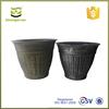 European style plastic planter, bronze archaic plastic potS