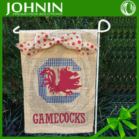 2015 new products professional China top quality burlap flag