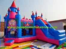 Inflatable Bouncy Castle with Slide for kids,cheap Inflatable Combo for sale,Inflatable Bounce House/Jumping Castle rental