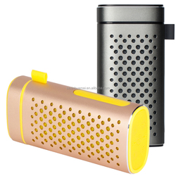 New design bluetooth speaker with power bank, small size cheap bluetooth speaker with 4400mah power bank