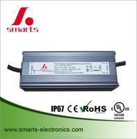 waterproof 2400ma 80w Triac dimmable LED strip light driver UL listed led power supply