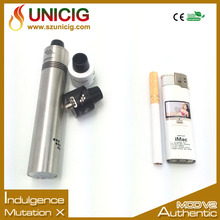 2015 Unicig Indulgence will launch authentic e donut cig ceramic coil atomizer
