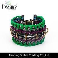 2015 wholesale charm glow stick bracelet