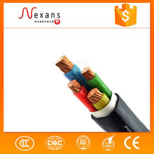 China provided electrical cable with 4 cores