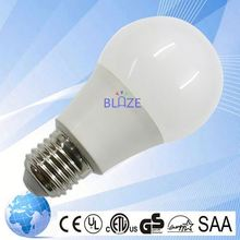 9w new flux bluetooth wifi controlled led color smart light bulb 7w e27 rgbw 100-277v etl approve