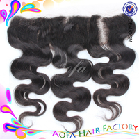 3bundles a lot Cambodian human hair pieces lace frontal closure straight with deep three part 2mm width 130% density