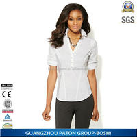 2014 Newest Women Tops And Blouse Of Casual Shirt