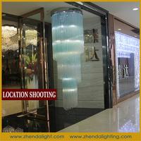 hotel or indoor commercial led glass chandelier & pendant lights
