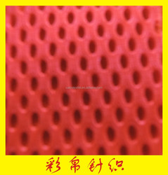 2015 updated Polyester and Spandex shoes mesh material