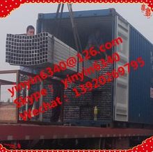 favorable price Zinc Coated Galvanized Square Pipe/Tube for Fluid