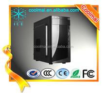 flat computer case/transparent plastic computer case/acrylic computer case-D6