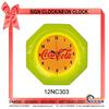 12NC303 Diamond-shaped Wall decoration Neon clock
