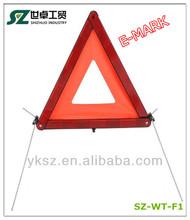 SHIZHUO emergency flashlight car emergency kits /warning triangle