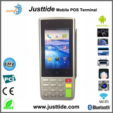 Factory Price Mobile Android Credit Card POS Device With Printer