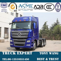 FOTON AUMAN 6x4 Tractor Truck 430hp, Foton tractor truck for sale