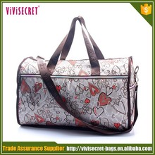 2015 online sale new style waterproof nylon luggage travel tote bags for woman