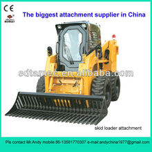 skid steer loader rock bucket (skid loader attachment,bobcat attachment)