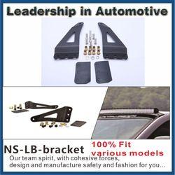 LB45 upper windshield 50 inch straight led light bar bracket for chevrolet silverado pick up
