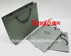 ECO Fashion Paper Shopping Bag for Suits