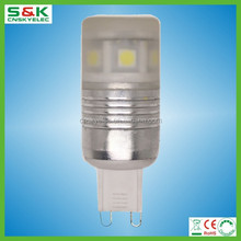 Alibaba website smd5050 3w led bulb g9 to gu10 lamp adapter