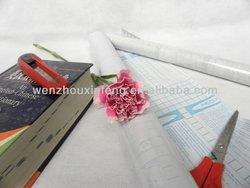 pvc plastic self adhesive book cover