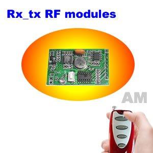 Tx-rx RF módulo, Transmissor sem fio e receptor, Am transmissor