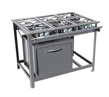 INDUSTRIAL GAS STOVE OVEN