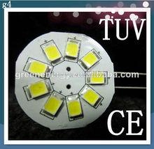 auto led with 9pcs 2835 led side pin 10-30v dc also for g4 marine led light