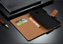 Factory Luxury PU Leather Wallet Stand Case Book Style Flip Cover With Card Slot Holder For HTC One M9 Mobile Phone Bag