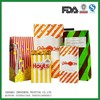 bread bag window/white kraft printed paper bag for bread packaging made in China
