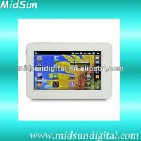 7 inch Android 3.0/windows CE 6.0 mini laptop notebook with WiFi