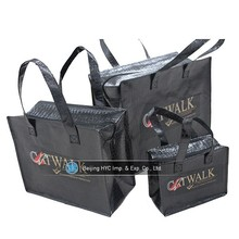 Environmentally friendly pp non woven foldable kids shopping bag