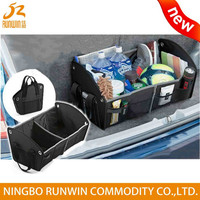 9 Year Experience Factory Direct Wholesale Foldable Car Trunk Organizer