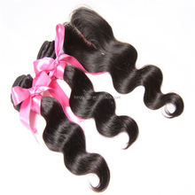 Unprocessed Virgin Filipino Hair And Closure&Eurasian Wavy Virgin Hair&Eurasian Virgin Hair Body Wave