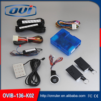 worldwide smart car alarm system smart key auto keyless entry remote start stop engine ignition start stop button