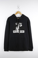Boys & Mens Black Printed Knitted Pullover Bulk Wholesale Clothing