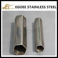 Wholesale ss304 hollow hexagonal steel tube
