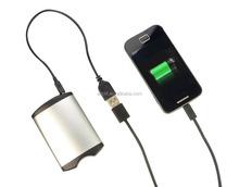 4400mah powerbank with USB hand warmer