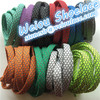 2015 Hot sale weiou reflective laces plastic tips on shoelace polyester shoe lace