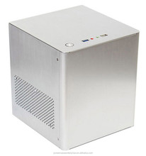 Mini itx media case red HTPC Case