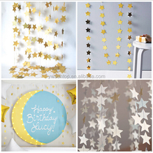 2M Star Garland Paper Garlang Wedding Party Baby Showe Decorations