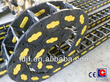 LCS Series flexible plastic cable carrier chain for CNC machine