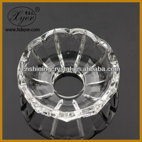 Hot Sell Crystal Bobeches Glass Crystal Chandelier Parts
