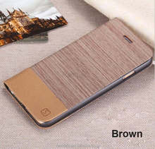 Stand Custom Made Leather Private Cell Phone Flip Case Cover for iPhone 6S Plus 6C 6 6S