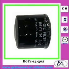 Auto Engine Parts Car Oil Filter for Mazda 323, 626 B6Y1-14-302