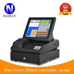 "Linux OS all in one 12"" touch screen POS cash registers good replacement of Windows OS"