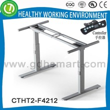 electronically adjustable desk & evaluation and selection des & lifting counter balanced or assisted by pneumatic strut